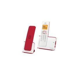 Telefono Alcatel G280 Voice Duo Inalambrico Blanco/Rojo - Envío Gratuito