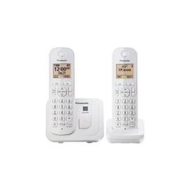 Telefono Panasonic Inalambrico Blanco - Envío Gratuito