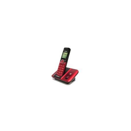 Teléfono Inalámbrico Vtech Cordless color Rojo - Envío Gratuito