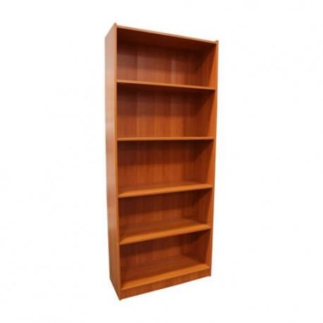 Librero 5 Repisas MDF Maple - Envío Gratuito