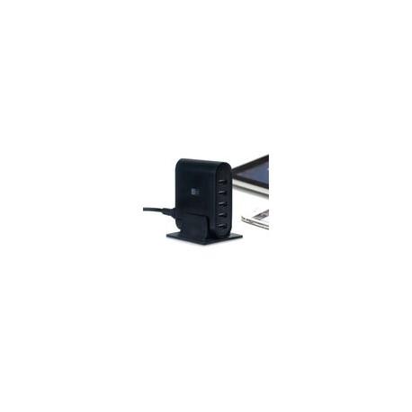 Estacion de Carga Case Logic Pared 7.1 Amp Negra - Envío Gratuito