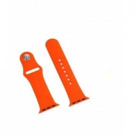 Correa Flex Apple Watch 38mm Naranja - Envío Gratuito