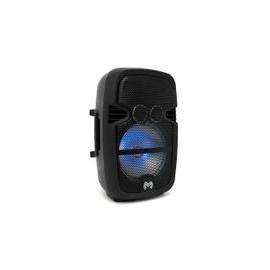 Bafle Master 8 Luces LED Negro Recargable 4.1 - Envío Gratuito