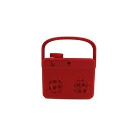 Bocina Case Logic Portátil Bluetooth Roja