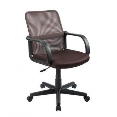 Silla Officemax Secretarial Verona Mesh Negro - Envío Gratuito