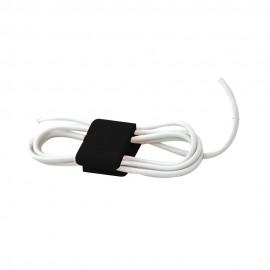 Stuk Organizador de silicón para cables mediano 4pk color