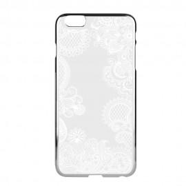 Funda Capdase para iPhone 6 Color Plata /Blanco