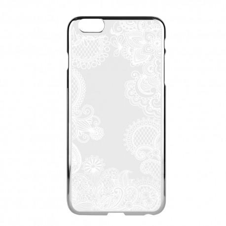 Funda Capdase para iPhone 6 Color Plata /Blanco - Envío Gratuito