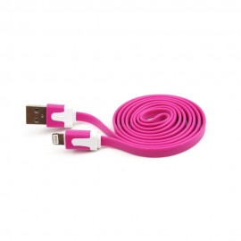 Cable Lightning 3.2 Flat Rosa