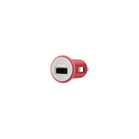 Cargador USB belkin para Auto Rojo 10w 2.1AMP - Envío Gratuito