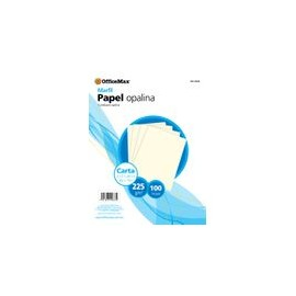 OPALINA PREMIUM BLANCO TAMANO CARTA 100HJS 120GRS - Opalina Premium Carta Blanca 100hjs 120grs - Envío Gratuito
