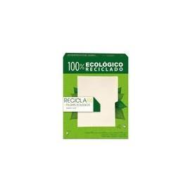 FOLDER MANILA CARTA RECICLA 100PZ - Folder Recicla Carta Manila 100pz - Envío Gratuito