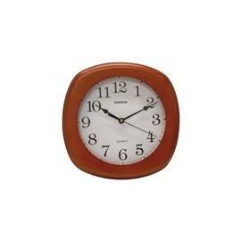 Reloj de Pared Timco con Marco de Madera Nogal