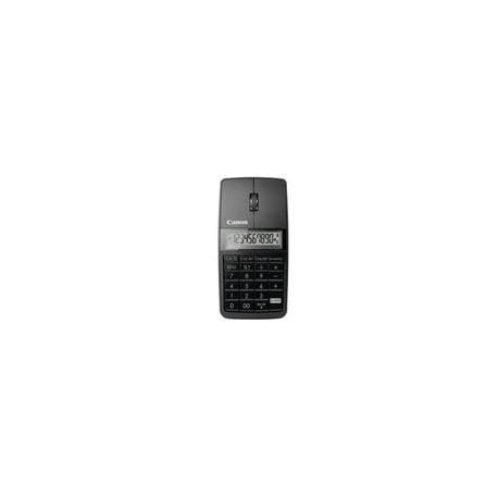 Mouse Canon Calculadora Inalambrico Negro - Envío Gratuito
