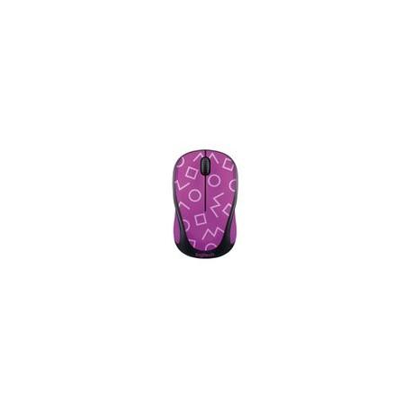 Mouse Logitech Inalambrico M317c Geometric Purple - Envío Gratuito