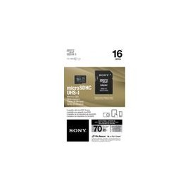 Micro SD Sony 16GB Clase 10 con Adaptador SD