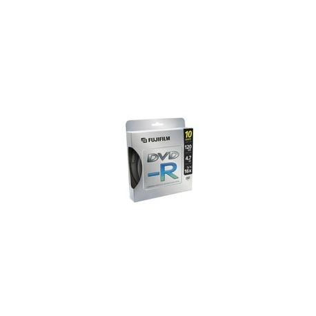 DVD-R Fujifilm 4.7GB 16X 80min - Envío Gratuito