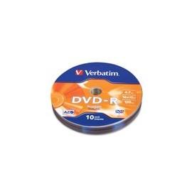 DVD-R Verbatim 16X 4.7GB 120Min 16X 10Pk