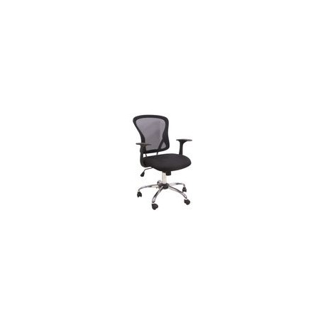 Silla Officemax Secretarial Casper Mesh Negro - Envío Gratuito