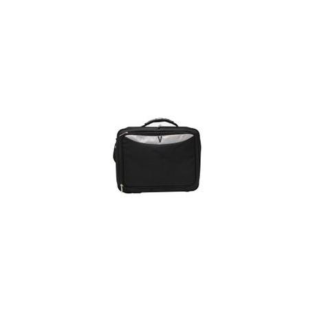 Portalaptop Virtuo 15 Negro con Mango Plastico Duro - Envío Gratuito