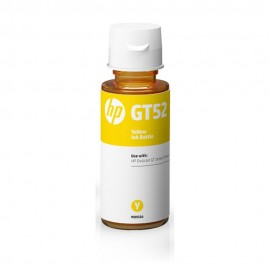 Botella HP GT52 Tinta Original Color Amarillo