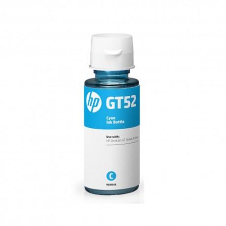 Botella HP GT52 Tinta Original Color Cyan - Envío Gratuito