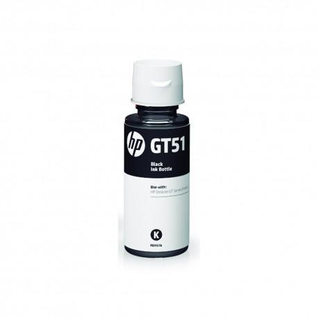 Botella HP GT52 Tinta Original Color Negro - Envío Gratuito