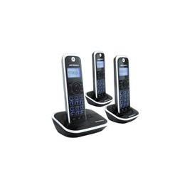 Telefono Motorola GATE4500-3 Trio Negro