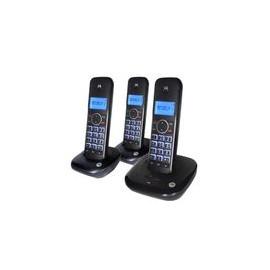 Telefono Motorola MOTO550CE-3Trio Negro con contestadora