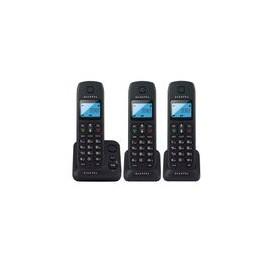 Teléfono Alcatel E190 Trio Inalámbricos Negro