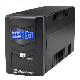 No Break Koblenz 7011-USB/R Capacidad 700VA/360W 26 minutos.