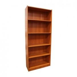 Librero 5 Repisas MDF Maple