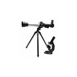 Telescopio y Microscopio Vivitar Kit 20x30x40 Negro
