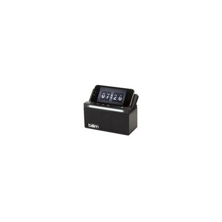 Bocina Bem Bluetooth V.40 con Luz LED Negra - Envío Gratuito
