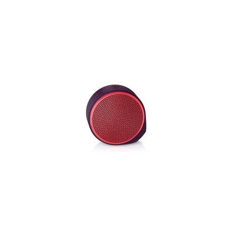 Bocina bluetooth Logitech x100 roja - Envío Gratuito