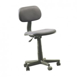 Silla Officemax Secretarial Bay Tela Negro