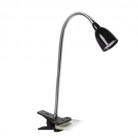 Lámpara de Clip LED Holy Negro
