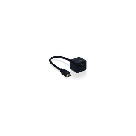 Multiplicador Case Logic HDMI Negro - Envío Gratuito