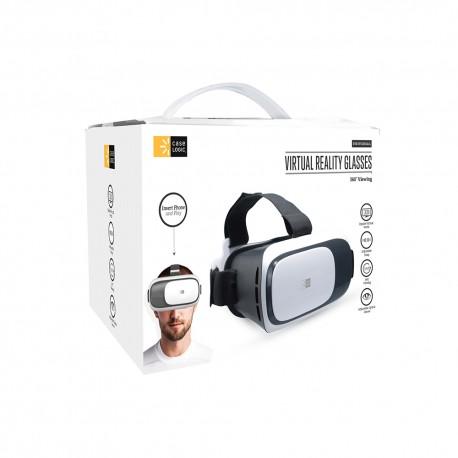 Lentes Realidad Virtual Case Logic 3D Universal Blanco - Envío Gratuito