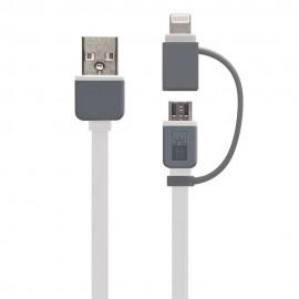 Cable Dual Light-Micro USB Case logic