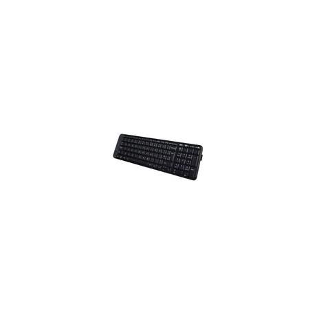 Teclado Logitech K230 Inalambrico Negro con Tapa de Colores - Envío Gratuito