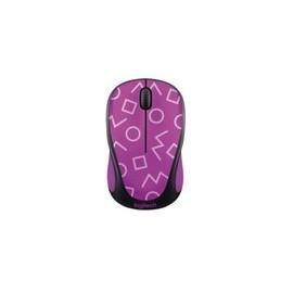 Mouse Logitech Inalambrico M317c Geometric Purple