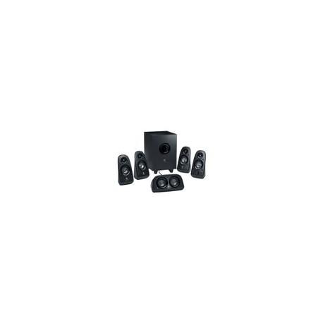 Bocinas Logitech Z506 5.1 Alambrica Negra - Envío Gratuito