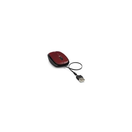 Mouse HP Retractil X1250 Rojo - Envío Gratuito
