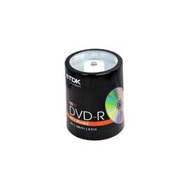 DVD-R TDK 4.7GB 16X 100pk