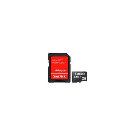 Micro SD Sandisk 32GB Clase 4 - Envío Gratuito
