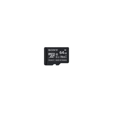 Micro SD Sony 64GB Clase 10 con Adaptador SD - Envío Gratuito