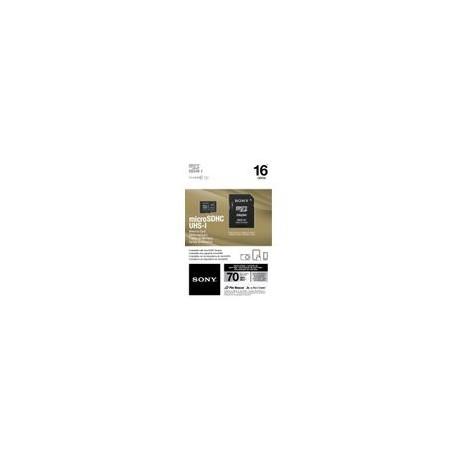 Micro SD Sony 16GB Clase 10 con Adaptador SD - Envío Gratuito