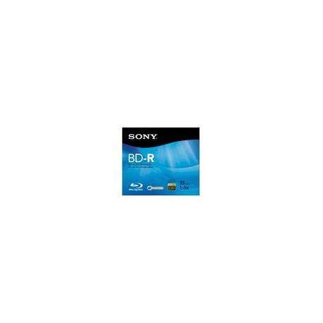 Bluray BD-R Sony 25GB 6X Individual - Envío Gratuito