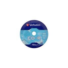 CD-R Verbatim 700MB 52X 10pk bulk